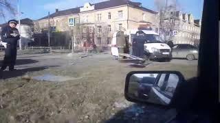 Автомобиль Росгвардии попал в ДТП в Нижнем Тагиле