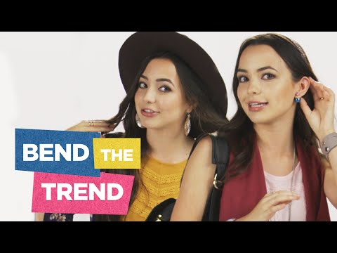 Merrell Twins: National Shoutout Day + Back to School Fashion | Bend the Trend Ep 1