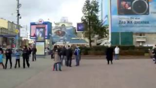 A walk around Moscow with Masha and Diana part one of two Tverskaya and Pushkin Square