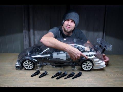 Spoilers and Bodymounts - Audi A4 DTM FG Sportsline 4WD