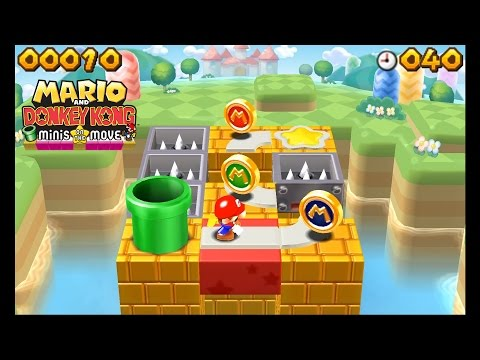 Citra Emulator (CPU JIT) - Mario and Donkey Kong: Minis on the Move (CRASHES) [1080p] - Nintendo 3DS - 동영상