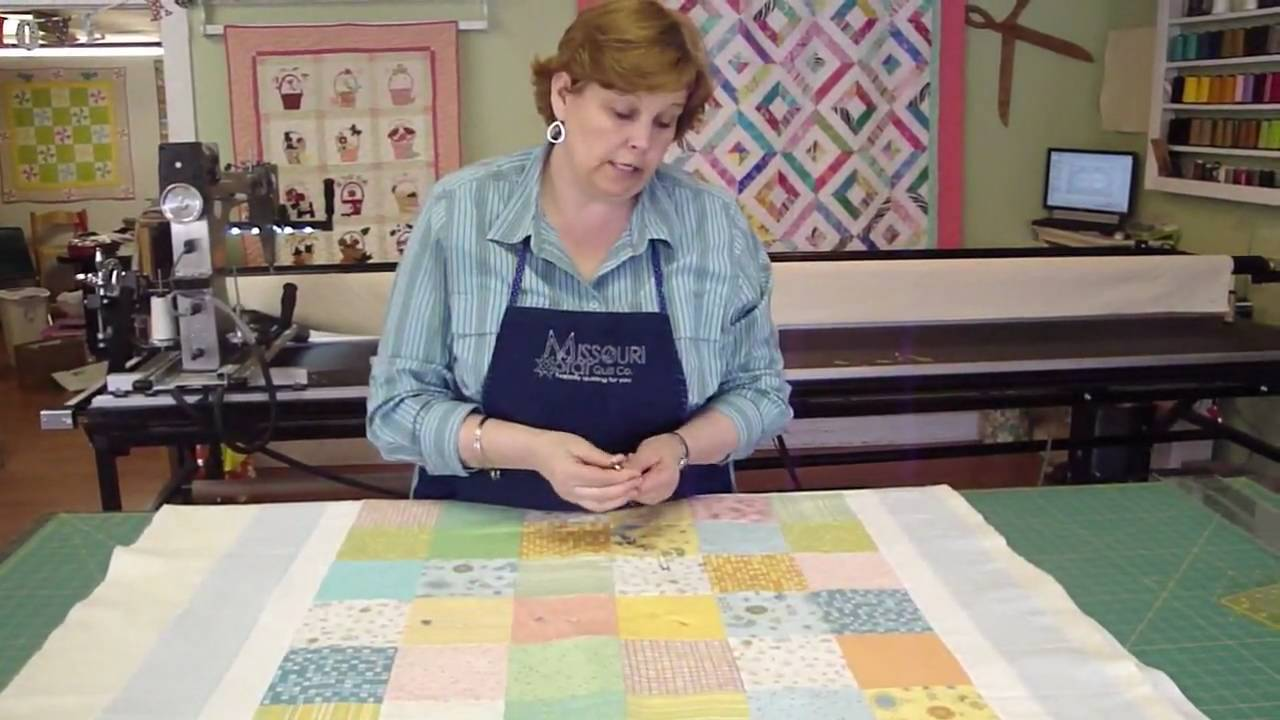 Make A Baby Quilt Part 3 Preparing And Quilting Your Baby Quilt
