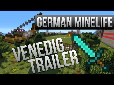 Minecraft Server German Minelife Venedig Trailer Самые лучшие - Minecraft namen andern craftingpat