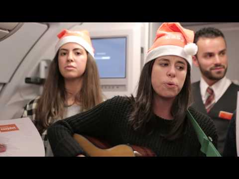 Carols in the sky - Merry Christmas from easyJet