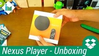 Google Nexus Player -  Unboxing en español