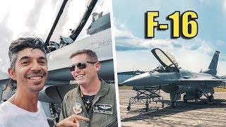 F-16 Fighter Jet Demo Team at Sun