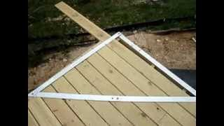 Out Of Square Porch Deck By Prior Construction Company