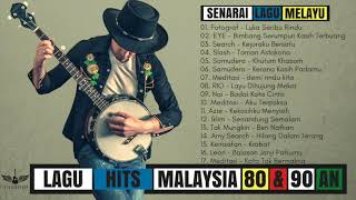 Gambar cover Lagu Hits Malaysia Lama 80 & 90-an Terbaik - Jiwang Melayu Zaman Dulu