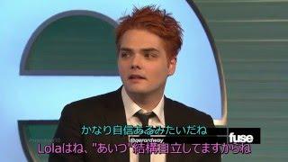 Gerard Way FuseTVインタビュー 日本語字幕つき