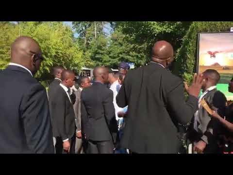 Un groupe de camerounais troublent le sommeil de Paul BIYA à l'hôtel intercontinental de Génève