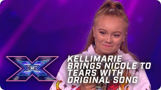 Kellimarie brings Nicole to tears with EMPOWERING song! | X Factor: The Band | Arena Auditions