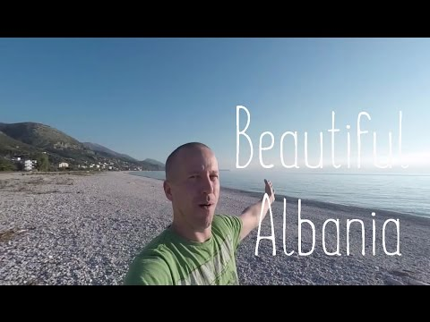 Coastal road of Albania