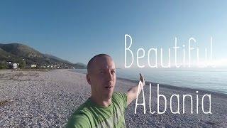 Coastal road of Albania