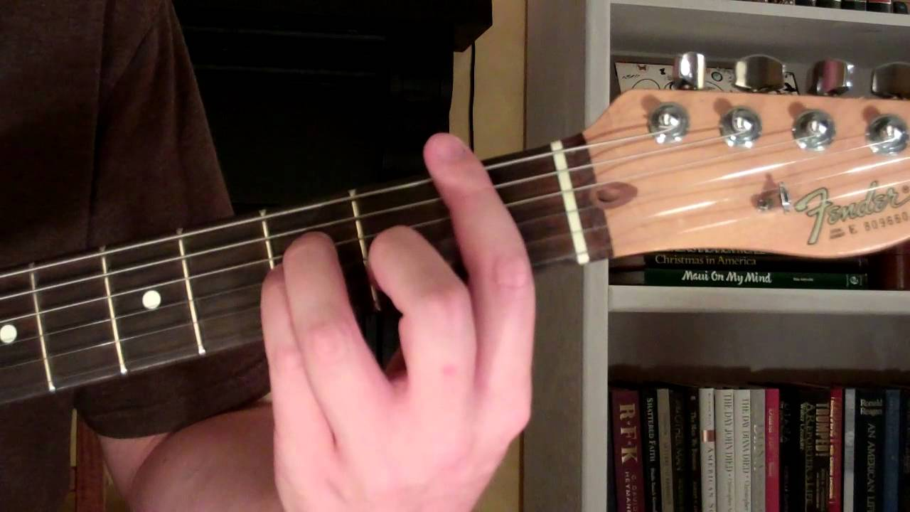 How To Play The Fsus4 Chord On Guitar F Suspended Fourth 4th Youtube
