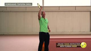 Want More Topspin On Your Groundstrokes? Try This Drill!