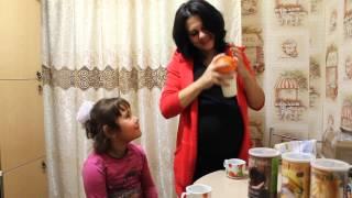 Виктория Персань кушает энерджи диет на 8 месяце !!!