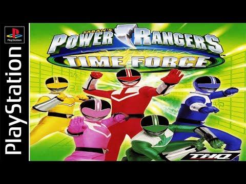 Power Rangers: Time Force 100% - Full Game Walkthrough / Longplay