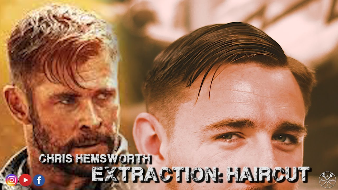 Chris Hemsworth Extraction Haircut Inspiration Shearperfection 2020 Youtube