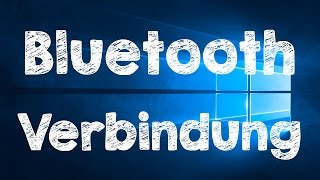 Windows 10 Bluetooth Gerät verbinden, deutsch