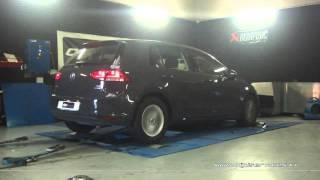 VW Golf 7 1.6 tdi 105cv Reprogrammation Moteur @ 153cv Digiservices Paris 77 Dyno
