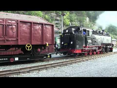 Güter auf die Bahn ! Mit dem GmP nach Dippoldiswalde