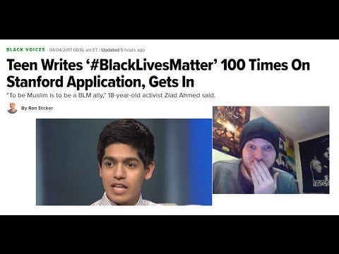 Teen Writes '#BLM' 100 Times On Stanford Application