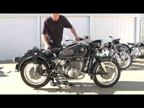 Vintage BMW Motorcycle