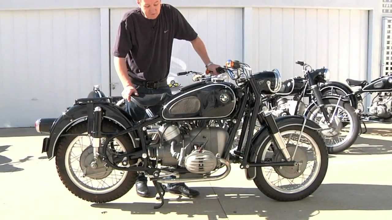 vintage bmw motorcycle collection - youtube
