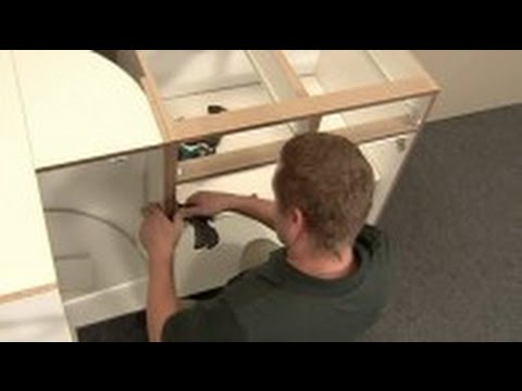 How to Install Full Access, Frameless Cabinets - YouTube