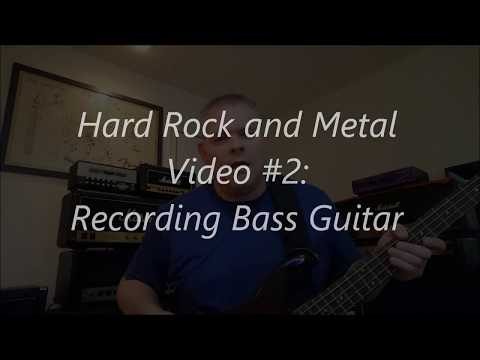 How to Record Metal Bass Guitar - PreSonus Studio One - Recording Hard Rock and Metal