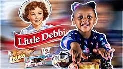 TRYING EVERY LITTLE DEBBIE SNACKS | ZEBRA CAKES BROWNIES OATMEAL CREAM PIE | PRINCESS YASI | 2019