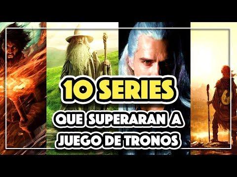 Las 10 SERIES que SUPERARAN a JUEGO DE TRONOS!!!😱 NO TE LAS PIERDAS!! ¿Quieres saber cuáles son?