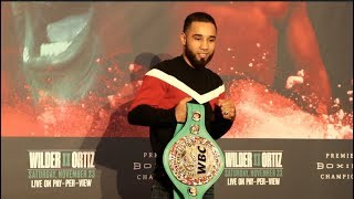 LUIS NERY (OFFICIAL) GRAND ARRIVAL @ MGM GRAND AHEAD OF EMMANUEL RODRIGUEZ CLASH / FOX PPV