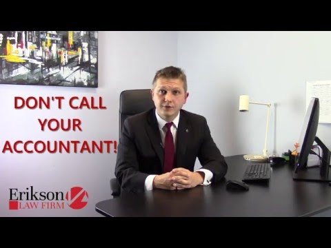 Tax Law - Erikson Law Firm