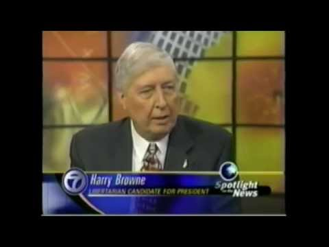 Harry Browne - Libertarian Party Hall of Liberty, 2014