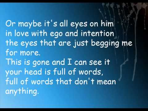 Chiodos - Intensity in Ten Cities Lyrics.wmv
