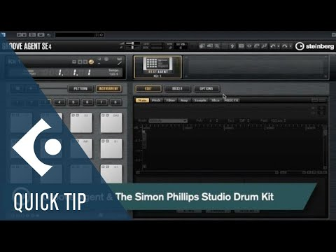 Groove Agent & The Simon Phillips Studio Drum Kit | Composing And Creative Workflows