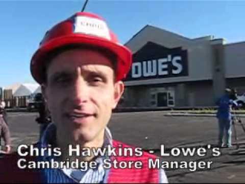 Lowe's Store Cambridge Pre-Opener Celebration