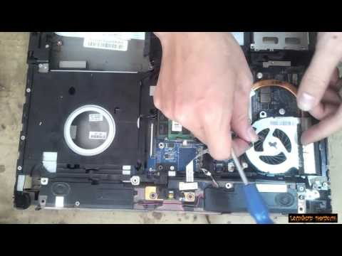 HP ProBook 4320s Disassembly and fan cleaning
