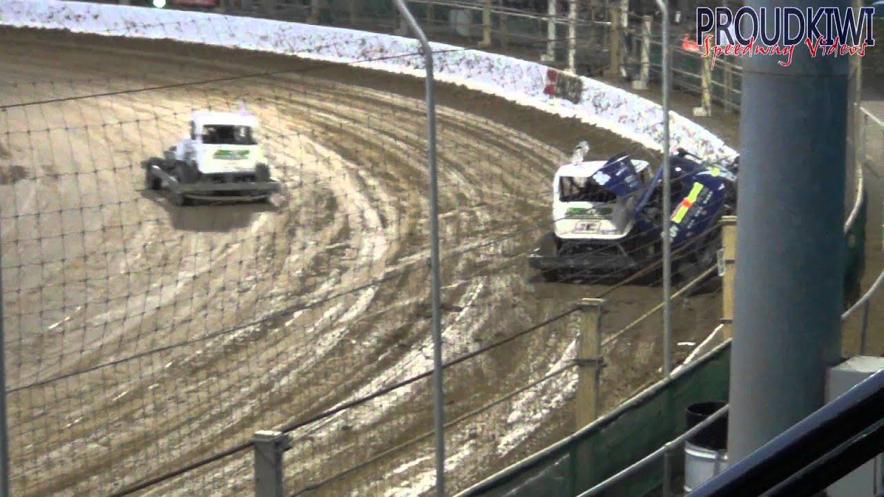 Nz Stockcar Teams Smashes And Rolls 19 1 13 Doovi