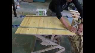 Соединение двух листов мебельного щита(В видео показан подробный процесс соединения двух листов мебельного щита на ламели и клей. Данная потребн..., 2015-02-04T10:00:00.000Z)