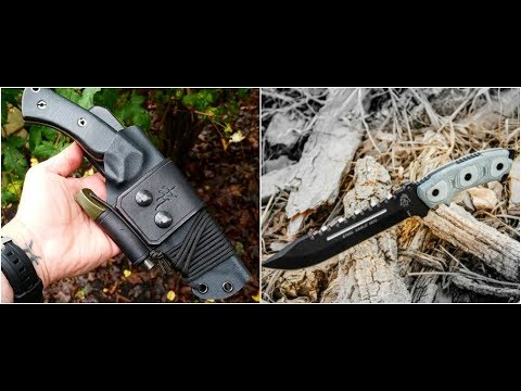 TOP 10 CRAZY SURVIVAL KNIVES ON AMAZON  2017