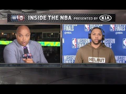 Inside The NBA: Eric Gordon 'Break Down' Golden State Warriors Vs Houston Rockets Game 4