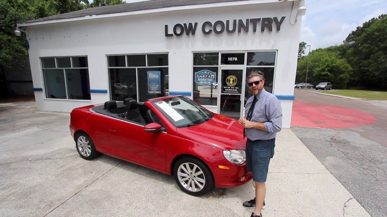 Volkswagen Mt Pleasant >> Reviewing The 2009 Volkswagen Eos Komfort Edition Low Country Vw Mt Pleasant Sc