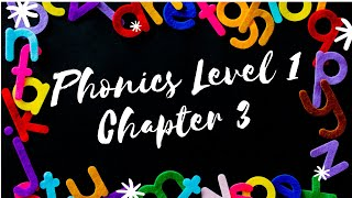 Phonics 英語拼音 Level 1 Chapter 3 (GHI)