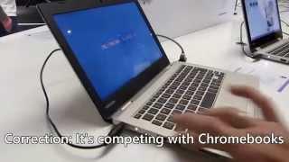 Toshiba Satellite CL10-B Windows Laptop