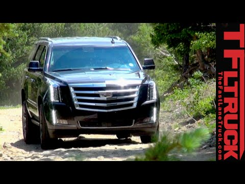 All Terrain Truck Tires >> 2015 Cadillac Escalade Off-Road Review: Slade Finally Gets ...