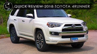 quick review 2018 toyota 4runner like a fine wine