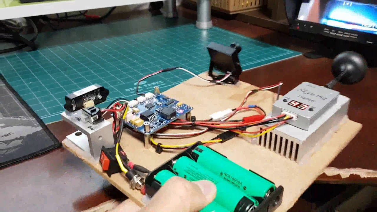 DIY Wireless CAM viewer with OSD and distance measurement ...