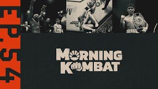Derek Brunson, Showtime Boxing, Whittaker-Cannonier   MORNING KOMBAT   Ep. 54